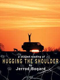 Hugging Shoulder poster