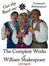 The Complete Works of William Shakespeare (abridged) poster