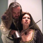 John Snell and Ami Sallee in Jobsite's Titus Andronicus.