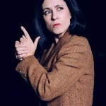 Amy E. Gray in Jobsite's Silence! The Musical. (Photo by Crawford Long.)