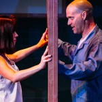 Amy E. Gray and Jonathan Harrison in Jobsite's Silence! The Musical. (Photo by Crawford Long.)