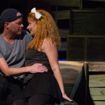 Derrick Phillips and Katrina Stevenson in Jobsite's Lebensraum. (Photo by Pritchard Photography.)