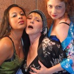 Jessy Quinones, Caroline Jett and Katie Castonguay in Jobsite's Chapel Perilous.