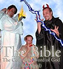 Bible (abridged) poster