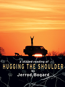 Hugging Shoulder poster