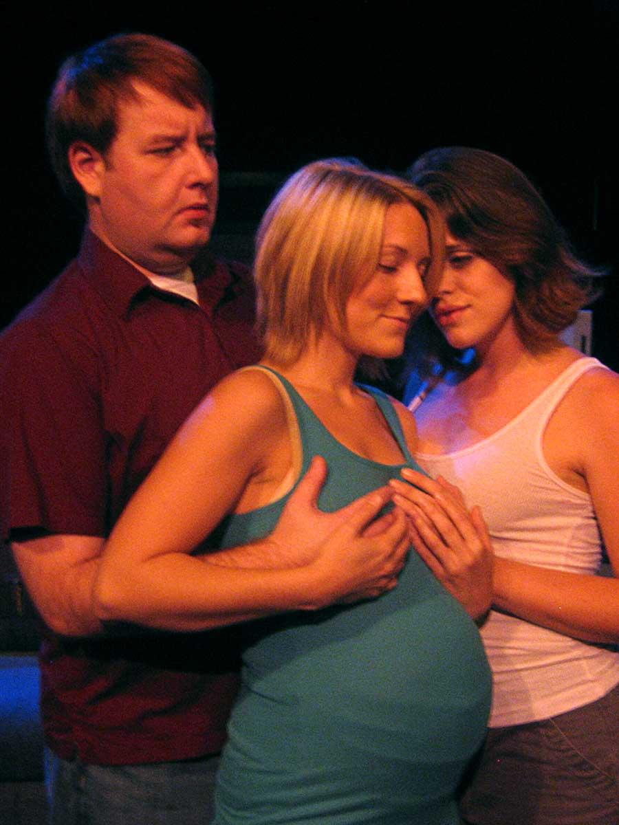 Lesbian Fondling 6