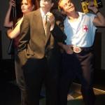 (L-R) Katrina Stevenson, Ami Sallee and Jason Evans in Jobsite's Delusion of Darkness. (Photo by Brian Smallheer.)