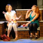 Meg Heimstead and Katrina Stevenson in Jobsite's Dog Sees God. (Photo by Brian Smallheer.)