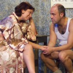 Ami Sallee and Paul J. Potenza in Jobsite's Frankie and Johnny in the Clair de Lune. (Photo by Brian Smallheer.)