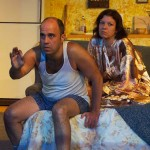 Paul J. Potenza and Ami Sallee in Jobsite's Frankie and Johnny in the Clair de Lune. (Photo by Brian Smallheer.)