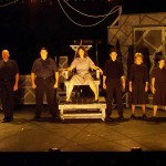 The Ensemble of Jobsite's Machinal. (Photo by Brian Smallheer.)
