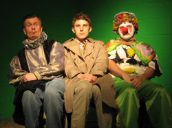 David O'Hara, Phillip Gulley and Christopher Rutherford in the Job-side project Short Comings.