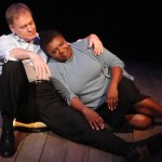 Jim Wicker and Fanni Green in Jobsite's Yellowman. (Photo by Brian Smallheer.)