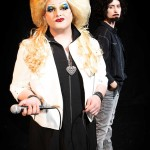 Spencer Meyers and Amy E. Gray in Jobsite's Hedwig and the Angry Inch. (Photo by Crawford Long.)