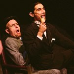David M. Jenkins and Giles Davies in Jobsite's The Hound of the Baskervilles. (Photo by Crawford Long.)