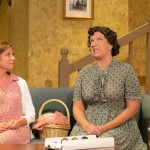 (L-R) Suzy Devore and Ami Sallee in Jobsite's The Last Night of Ballyhoo. (Photo by Crawford Long.)