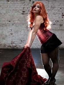 Katrina Stevenson in Jobsite's Vampire Lesbians of Sodom. (Photo by Crawford Long.)
