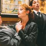 Maggie Mularz, Katrina Stevenson, Giles Davies and Roxanne Fay in Jobsite's Twelfth Night. (Photo courtesy Crawford Long.)
