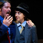 Chris Holcom and Maggie Mularz in Jobsite's Twelfth Night. (Courtesy Crawford Long.)
