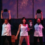 (L-R) Colleen Cherry, Amy E. Gray and Heather Krueger in Jobsite's Silence! The Musical. (Photo by Crawford Long.)