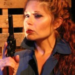 Katrina Stevenson in Jobsite's Lebensraum. (Photo by Brian Smallheer.)