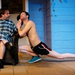 (L-R) Brian Shea and Jamie Jones in Jobsite's Vanya and Sonia and Masha and Spike. (Photo by Crawford Long.)