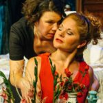 Georgia Mallory Guy and Katrina Stevenson in Jobsite's The Maids. (Photo by Crawford Long.)