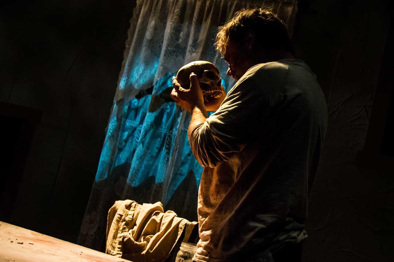 Brian Shea in Jobsite's A Skull in Connemara. (Photo by Ryan Finzelber.)