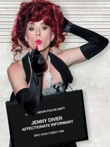 Amy E. Gray in Jobsite's The Threepenny Opera.