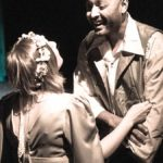Emily Belvo and DeQuan Mitchell in Jobsite's The Tempest. (Photos by Pritchard Photography.)