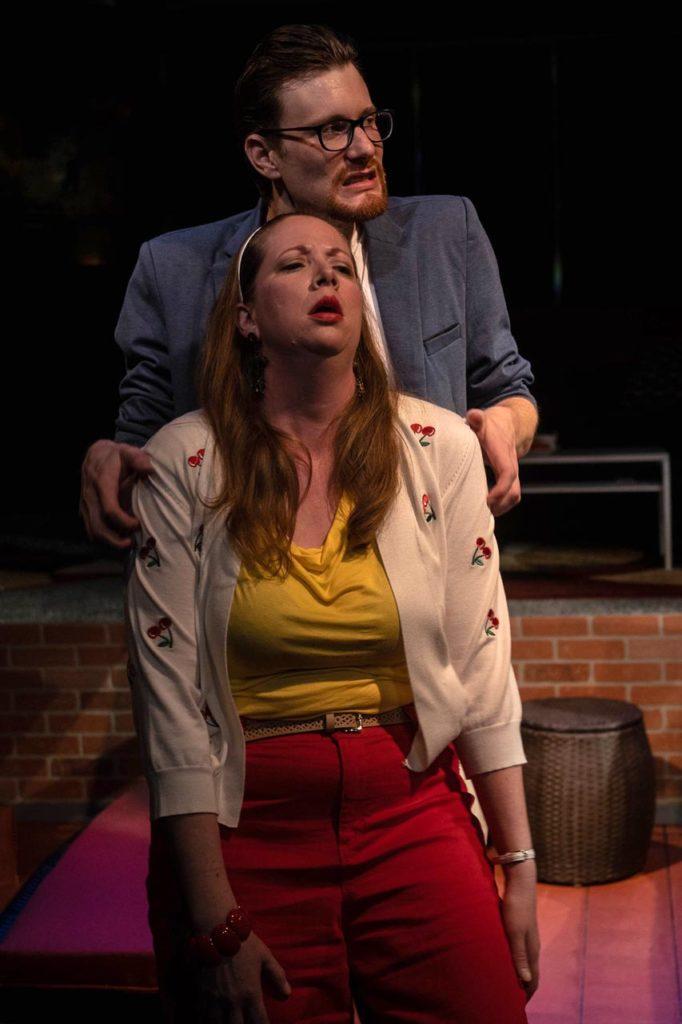 Jamie Jones and Jonelle Meyer in Jobsite's Meteor Shower. (Photo: Pritchard Photography.)
