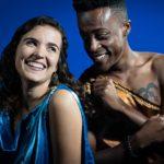 Sadie Lockhart and Patrick Jackson in Jobsite's A Midsummer Night's Dream.