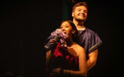 Kara Sotakoun and Matt Acquard in Jobsite's A Midsummer Night's Dream. (Photo: Pritchard Photography.)