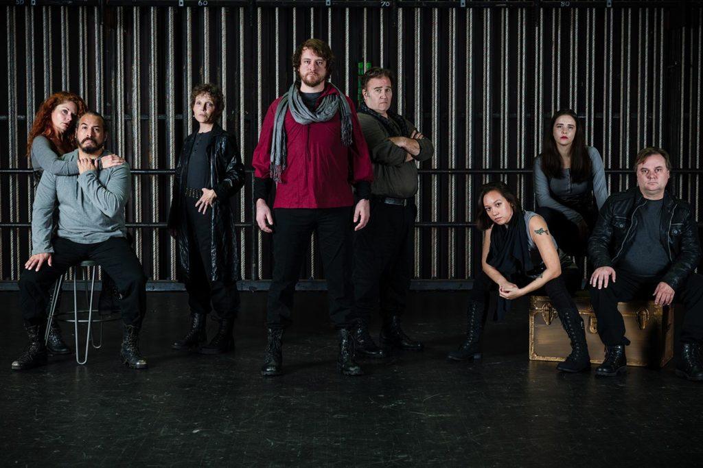 The Ensemble of Jobsite's Henry V.