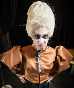 Amy E. Gray in Jobsite's Shockheaded Peter. (Photo: James Zambon Photography)