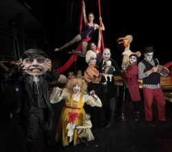 The Ensemble of Jobsite's Shockheaded Peter. (Photo: James Zambon Photography)