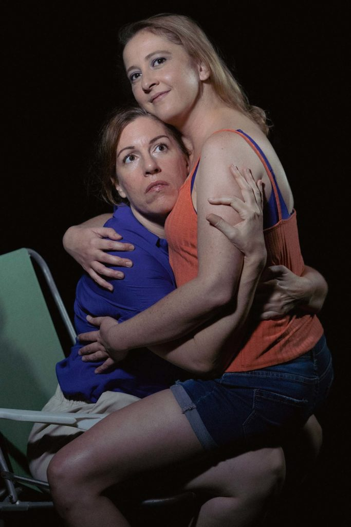 (L-R) Leah LoSchiavo and Emily Belvo in Jobsite's Dr. Ride's American Beach House. (Photo: Pritchard Photography)