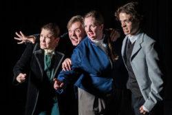 (L-R) Nicole Jeannine Smith, Brian Matthew Shea, Jonelle Meyer and Blake Smallen in Jobsite's Dr. Jekyll & Mr. Hyde. (Photo: Pritchard Photography)